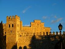 Toledo, de Muur van de Stad Stock Fotografie
