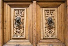 Toledo Doors Royalty Free Stock Photo