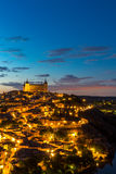 Toledo at dusk Spain Royalty Free Stock Photo