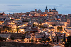 Toledo at dusk, Spain Royalty Free Stock Photography
