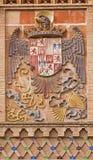 Toledo - Eagle come araldica della città Fotografie Stock Libere da Diritti