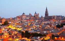 Toledo  in early morning.  Spain Royalty Free Stock Image