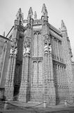 Toledo - East facade of Monasterio San Juan de los Reyes Royalty Free Stock Images