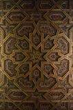 TOLEDO, ESPAGNE - 8 FÉVRIER 2017 : Un plafond de la cathédrale de primat de St Mary de Toledo Image libre de droits