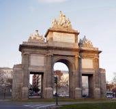 Toledo gate or Puerta de Toledo Royalty Free Stock Photo