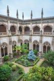 Toledo - Gothic atrium of Monasterio San Juan de los Reyes Stock Image
