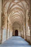 Toledo - Gothic atrium of Monasterio San Juan de los Reyes Stock Photos