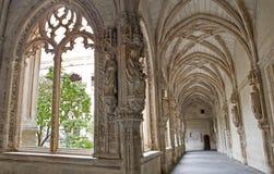 Toledo - Gothic atrium of Monasterio San Juan de los Reyes Royalty Free Stock Photos