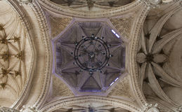 Toledo -  Gothic cupola in Monastery of Saint John of the Kings Royalty Free Stock Photography