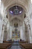 Toledo - Gothic interior of Monasterio San Juan de los Reyes or Monastery of Saint John of the Kings Royalty Free Stock Photography