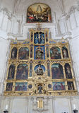 Toledo - Gothic main altar of Monasterio San Juan de los Reyes Royalty Free Stock Photo