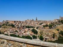 Toledo hålstaden, en mycket naturlig bild med Sp för fritt utrymme royaltyfria foton
