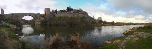 Toledo Hiszpania panorama Obrazy Royalty Free