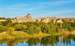 Toledo with the Hospital of Tavera - Spain Stock Image