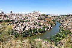 Toledo.Ispaniya-Landschaft. stockbild