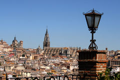 Toledo and its cathedral Stock Image