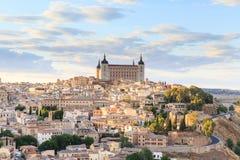 Toledo jest kapitałem prowincja Toledo blisko Madryt zdjęcie royalty free
