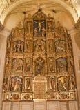 Toledo - altare principale policromo della chiesa romana di San Fotografie Stock Libere da Diritti
