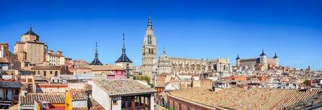 Toledo, la Mancha, España del Castile Fotografía de archivo