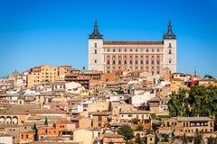 Toledo, la Mancha, España del Castile Imagenes de archivo