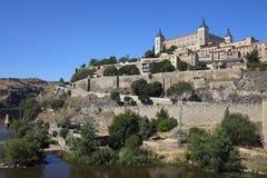 Toledo - La Mancha - Spanien Royaltyfri Fotografi