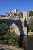 Toledo - La Mancha - Spanien Arkivbilder
