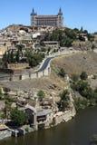 Toledo - La Mancha - Spanien Royaltyfri Bild
