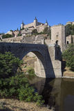 Toledo - La Mancha - Spanje Stock Afbeeldingen