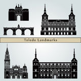 Toledo landmarks and monuments Royalty Free Stock Image