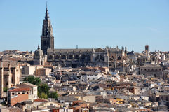 Toledo landscape Royalty Free Stock Images