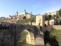 Toledo medieval Imágenes de archivo libres de regalías