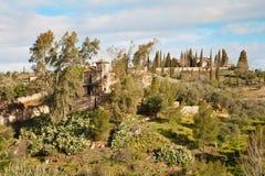 Toledo - Mediterranean villa in Toledo Royalty Free Stock Image