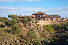 Toledo - Mediterranean villa in Toledo Stock Photography
