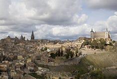 Toledo met Wolken Stock Foto