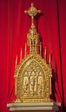 Toledo - Modern tabernacle in Monasterio San Juan de los Reyes or Monastery of Saint John of the Kings Royalty Free Stock Photos