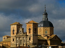 Toledo, Monastery royalty free stock images