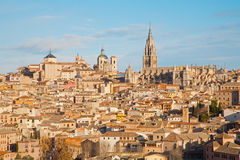 Toledo in morning light Royalty Free Stock Images