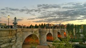 Toledo most, Madryt, Hiszpania Fotografia Royalty Free
