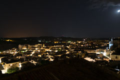 Toledo at night Royalty Free Stock Photo