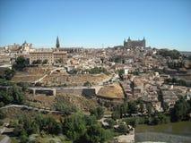 Toledo - o outro lado do rio Imagem de Stock Royalty Free