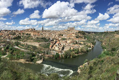 Toledo old city with blue sky Stock Photo