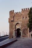 Toledo old city gate Stock Image