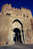 Toledo old city gate Stock Images