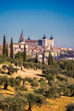 Toledo old town city in Spain Royalty Free Stock Photo