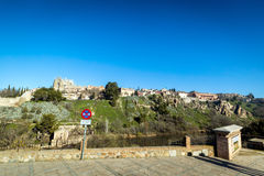 Toledo old town city in Spain Royalty Free Stock Image