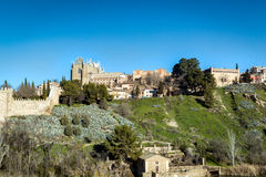 Toledo old town city in Spain Stock Photo