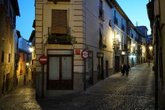 Toledo old town stock image