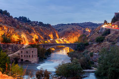 Toledo. Old water mill. Royalty Free Stock Image