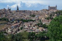 Toledo from outside Royalty Free Stock Photo