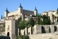 Toledo-Panorama Stockbilder